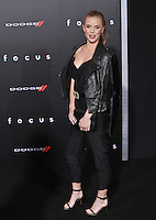 Kelli Garner at the Los Angeles premiere of &quot;Focus&quot; at the TCL Chinese Theatre, Hollywood.<br /> February 24, 2015  Los Angeles, CA<br /> Picture: Paul Smith / Featureflash