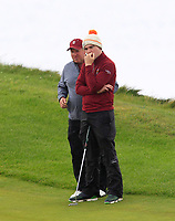 Ronan Cross (Ballybunion) on the 3rd green during the Munster Final of the AIG Junior Cup at Tralee Golf Club, Tralee, Co Kerry. 13/08/2017<br /> Picture: Golffile | Thos Caffrey<br /> <br /> <br /> All photo usage must carry mandatory copyright credit     (&copy; Golffile | Thos Caffrey)