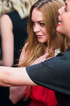 American actress Lindsay Lohan attend to the 20th anniversary of UNOde50 at Palacio de Saldaña in Madrid. June 09. 2016. (ALTERPHOTOS/Borja B.Hojas)