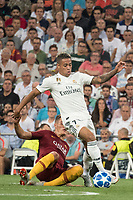 Uefa Champions League football match Real Madrid vs AS Roma at the Santiago Bernabeu stadium in Madrid on September 19, 2018.<br /> Mariano