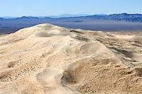 Kelso Dunes in the Mojave Desert, California.