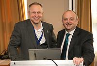 NCBC President Mark Deakin with Professor Edward Peck of the Nottingham Trent University