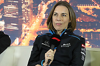 27th February 2020; Circuit De Barcelona Catalunya, Barcelona, Catalonia, Spain; Formula 1 2nd Pre season Testing Day Two; Claire Williams, Deputy Team Principal of ROKiT Williams Racing