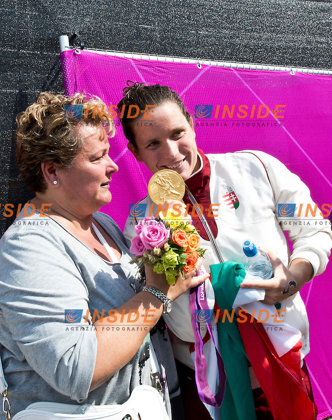 Eva Risztov Hungary Gold.Open Water Swimming Marathon.London 2012 Olympics - Olimpiadi Londra 2012.day 14 Aug.9.Photo G.Scala/Deepbluemedia.eu/Insidefoto