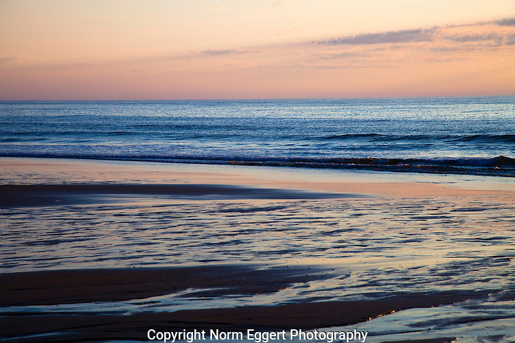 Early morning light at Nauset Beach in Eastham, Massachusetts