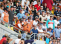 A catch is dropped in the crowd during the third ODI cricket match between the Blackcaps & England at Westpac stadium, Wellington. 3rd March 2018. © Copyright Photo: Grant Down / www.photosport.nz