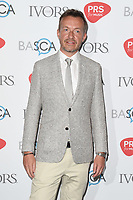 Fraser T Smith arriving for the Ivor Novello Awards 2018 at the Grosvenor House Hotel, London, UK. <br /> 31 May  2018<br /> Picture: Steve Vas/Featureflash/SilverHub 0208 004 5359 sales@silverhubmedia.com