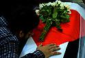 Prayer for Palestinian professor Fadi Mohammad al-Batsh who was shot dead in Kuala Lumpur
