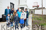 Pictured at the Valentia Island Lighthouse Open Day on Sunday were front l-r; Tylar Reardon, Sean Fitzpatrick, Cathal O'Driscoll, Brian O'Driscoll, back l-r; Ted Kennedy, Terry Gordon, Madeline Fitzpatrick, Paul Duff, Geraldine Reardon, Marguerite Donnelly & Patrick O'Connell.
