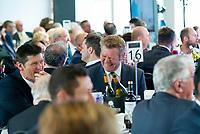 Picture By Allan McKenzie/SWpix.com - 06/04/18 - Cricket - Yorkshrie County Cricket Club Opening Season Lunch 2018 - Emerald Headingley Stadium, Leeds, England - Matthew Hoggard.