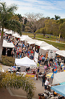 It was all about art as a large crowd attended the 31st Annual Naples National Art Festival hosted by The von Liebig Art Center, one of the countrys top art festivals held in Naples, Florida. Artists gathered to showcase their works at the Cambier Park on Feb 20 and 21, 2010.