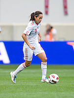 Lupita Worbis. The USWNT defeated Mexico, 1-0, during the game at Red Bull Arena in Harrison, NJ.