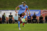 Piscataway, NJ - Sunday Sept. 25, 2016: Sarah Killion during a regular season National Women's Soccer League (NWSL) match between Sky Blue FC and the Portland Thorns FC at Yurcak Field.
