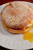 Stock photo of fried egg sandwich