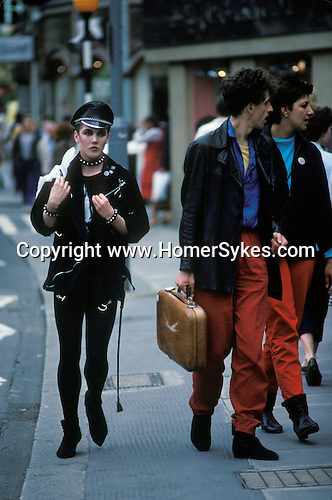 Punk New Romantics Kings Road Chelsea London England  1982