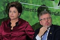 BRASILIA, DF, 04 DE JULHO DE 2012 - A presidente da Republica Dilma Rousseff (E) e o presidente da Camara Marco Maia durante cerimonia de lancamento do Plano Safra da Agricultura Familiar 2012/2013, no Palacio do Planalto nesta quarta-feira, 04. - Foto: Pedro Franca/Brazil Photo Press