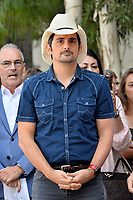 LOS ANGELES, CA. September 20, 2018: Brad Paisley at the Hollywood Walk of Fame Star Ceremony honoring singer Carrie Underwood.<br /> Pictures: Paul Smith/Featureflash