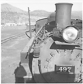 Right front detail of K-37 #497.<br /> D&amp;RGW