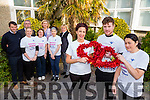 Bon Secours Hospital sign up 113 staff members take part in the  Valentines Day run Pictured front l-r Martha O'Donoghue, Reggie Galvin, Suzanne Doyle, Back l-r Denis Hanafin, George Phillip, Mary B Murphy, Cara Wrenn, Suzanne Chute, Siobhan Hartnett, Donna Roche, Hospital Manager