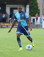 Myles Weston of Wycombe Wanderers  during the Friendly match between Maidenhead United and Wycombe Wanderers at York Road, Maidenhead, England on 30 July 2016. Photo by Alan  Stanford PRiME Media Images.