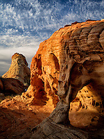 Rock formation. Valley of Fire State Park, Nevada