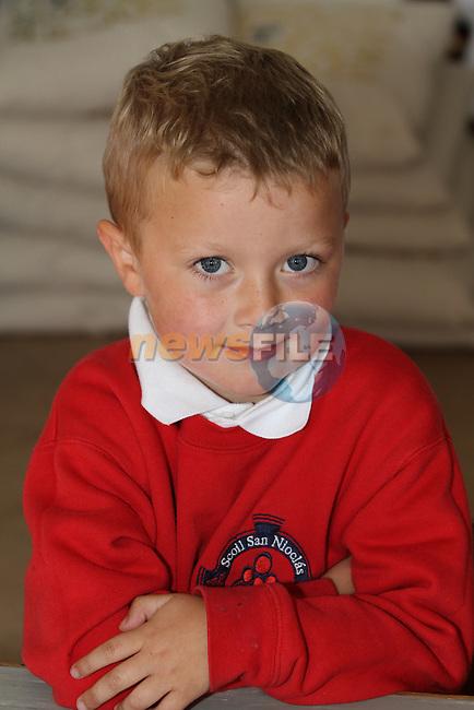 Stabannon NS 1st Day at School 2012...Photo NEWSFILE/Jenny Matthews.