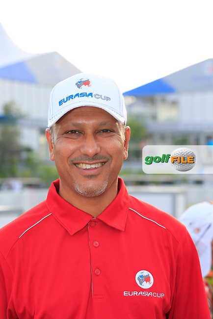Asian Team Captain Jeev Milkha Singh (IND) during Pro-Am Day of the 2016 Eurasia Cup held at the Glenmarie Golf &amp; Country Club, Kuala Lumpur, Malaysia. 14th January 2016.<br /> Picture: Eoin Clarke   Golffile<br /> <br /> <br /> <br /> All photos usage must carry mandatory copyright credit (&copy; Golffile   Eoin Clarke)