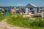 The fishing village on Beals Island, Beals, Maine, USA