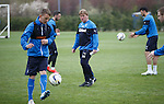 Stuart McCall checking on his players