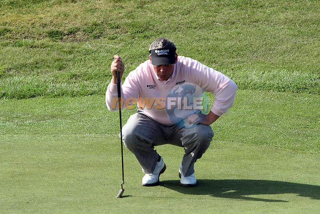 Darren Clarke on the 2nd day of the 3 Irish Open in Baltray...Photo NEWSFILE/Jenny Matthews.(Photo credit should read Jenny Matthews/NEWSFILE)....This Picture has been sent you under the condtions enclosed by:.Newsfile Ltd..The Studio,.Millmount Abbey,.Drogheda,.Co Meath..Ireland..Tel: +353(0)41-9871240.Fax: +353(0)41-9871260.GSM: +353(0)86-2500958.email: pictures@newsfile.ie.www.newsfile.ie.FTP: 193.120.102.198.