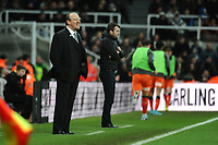 Newcastle United manager Rafa Benítez during Newcastle United vs Luton Town, Emirates FA Cup Football at St. James' Park on 6th January 2018