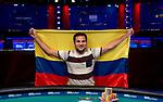 Daniel Ospina - 2018 $1,500 No-Limit 2-7 Lowball Draw Winner