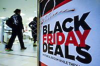 A Customer visits JCPenny department store during Black Friday sales events in Jersey City, NJ.  11/27/2015. Eduardo MunozAlvarez/VIEWpress