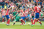 Atletico de Madrid's Juanfran Torres, Nacho and Koke Resurrecccion and Real Betis's R. Castro during BBVA La Liga match. April 02,2016. (ALTERPHOTOS/Borja B.Hojas)
