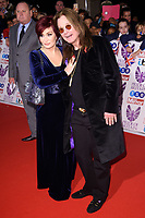 Sharon and Ozzy Osbourne<br /> at the Pride of Britain Awards 2017 held at the Grosvenor House Hotel, London<br /> <br /> <br /> &copy;Ash Knotek  D3342  30/10/2017