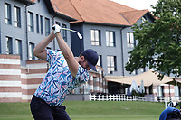 Ruaidhri McGee (IRL) in action during the final round of the Hauts de France-Pas de Calais Golf Open, Aa Saint-Omer GC, Saint- Omer, France. 16/06/2019<br /> Picture: Golffile | Phil Inglis<br /> <br /> <br /> All photo usage must carry mandatory copyright credit (© Golffile | Phil Inglis)