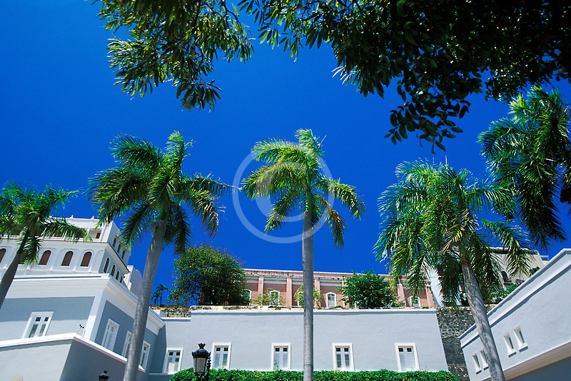 Puerto Rico, San Juan, City walls and La Princesa