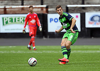 Pictured: Adnan Maric of Swansea Saturday 11 July 2015<br />