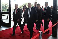 SÃO PAULO, SP, 03.04.2017 - FÓRUM -BRASIL SUÉCIA - O rei da Suécia, Carlos XVI Gustavo, durante Fórum de Líderes Empresariais Brasil-Suécia, no Palácio dos Bandeirantes, na tarde desta segunda-feira, 03.(Foto: Adriana Spaca/Brazil Photo Press)