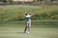 Trevor Fisher Jnr (RSA) on the 1st fairway during Round 3 of the Rocco Forte Sicilian Open 2018 played at Verdura Resort, Agrigento, Sicily, Italy on Saturday 12th May 2018.<br /> Picture:  Thos Caffrey / www.golffile.ie<br /> <br /> All photo usage must carry mandatory copyright credit (&copy; Golffile   Thos Caffrey)