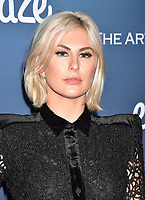 LOS ANGELES, CA - JANUARY 05: Sarah Barthel of Phantogram attend Michael Muller's HEAVEN, presented by The Art of Elysium at a private venue on January 5, 2019 in Los Angeles, California.<br /> CAP/ROT/TM<br /> ©TM/ROT/Capital Pictures