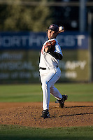 July 7, 2009: Salem-Keizer Volcanoes pitcher Taylor Rogers pitches against the Tri-City Dust Devils during a Northwest League game at Volcanoes Stadium in Salem, Oregon.