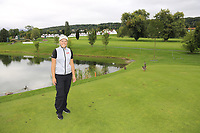 Brooke Henderson (CAN) with the ducks on the par3 5th tee during Wednesday's Pro-Am Day of The Evian Championship 2017, the final Major of the ladies season, held at Evian Resort Golf Club, Evian-les-Bains, France. 13th September 2017.<br /> Picture: Eoin Clarke | Golffile<br /> <br /> <br /> All photos usage must carry mandatory copyright credit (&copy; Golffile | Eoin Clarke)