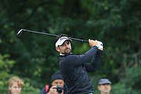 Lee Slattery (ENG) on the 6th tee during Round 3 of the D+D Real Czech Masters at the Albatross Golf Resort, Prague, Czech Rep. 02/09/2017<br /> Picture: Golffile | Thos Caffrey<br /> <br /> <br /> All photo usage must carry mandatory copyright credit     (&copy; Golffile | Thos Caffrey)