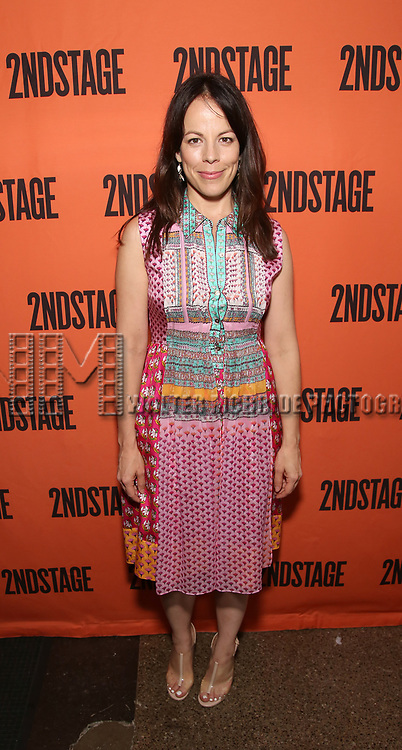 Leslie Kritzer attends the Opening Night performance of 'A Parallelogram'  at The Second Stage Theatre on August 2, 2017 in New York City.