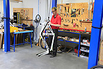 Thompson Bikes factory in Leissens, Flanders, Belgium. 23rd March 2017.<br /> Picture: Eoin Clarke | Cyclefile<br /> <br /> <br /> All photos usage must carry mandatory copyright credit (&copy; Cyclefile | Eoin Clarke)