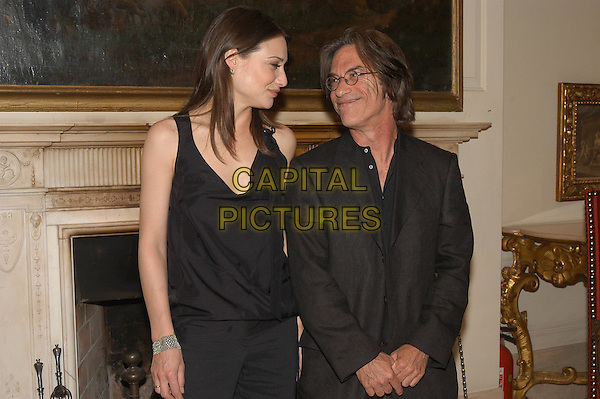 "CLAIRE FORLANI & MIRMAN BRAD.At the photocall for movie ""The Shadow Dancer"".Rome, Italy.30th April 2004.half length half-length.www.capitalpictures.com.sales@capitalpictures.com.©Capital Pictures"