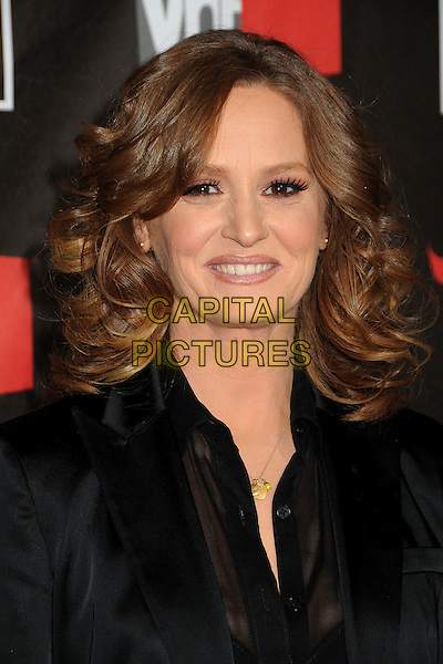 MELISSA LEO .at The16th Annual Critics' Choice Movie Awards held at The Hollywood Palladium in Hollywood, California, USA, January 14th, 2011..portrait headshot  black eyelashes make-up beauty gold necklace shirt .CAP/ADM/BP.©Byron Purvis/AdMedia/Capital Pictures.