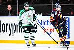 Stockholm 2014-03-27 Ishockey Kvalserien Djurg&aring;rdens IF - R&ouml;gle BK :  <br /> R&ouml;gles Kelsey Tessier deppar<br /> (Foto: Kenta J&ouml;nsson) Nyckelord:  DIF Djurg&aring;rden R&ouml;gle RBK Hovet depp besviken besvikelse sorg ledsen deppig nedst&auml;md uppgiven sad disappointment disappointed dejected