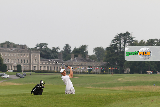 Thomas Elissalde (France) on the Final Day of the International European Amateur Championship 2012 at Carton House, 11/8/12...(Photo credit should read Jenny Matthews/Golffile)...